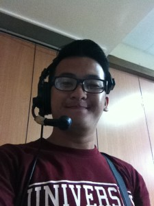 Selfie with Headset